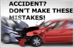 Five common car insurance claim mistakes to avoid