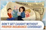 Don't get caught without proper car insurance coverage!