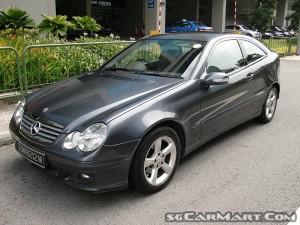 Mercedes-Benz C-Class C180K Coupe