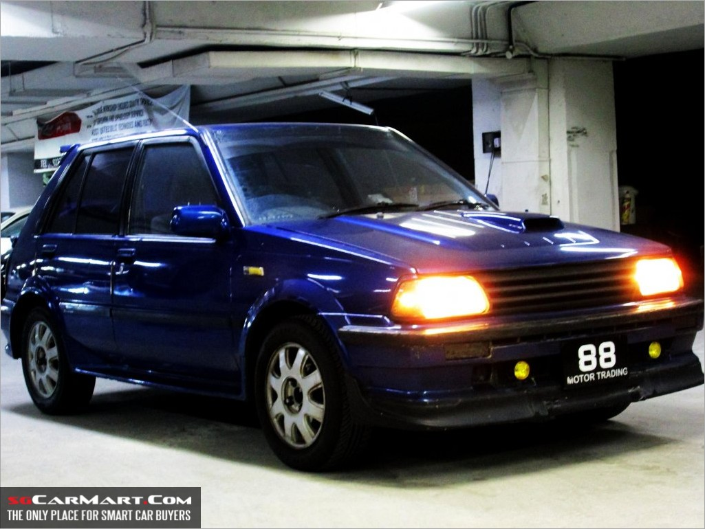 1986 Toyota Starlet XL (COE till 03/2016) Photos & Pictures