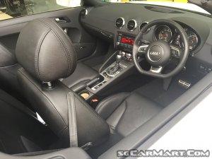Audi TT Roadster 1.8A TFSI S-tronic (New 10-yr COE)