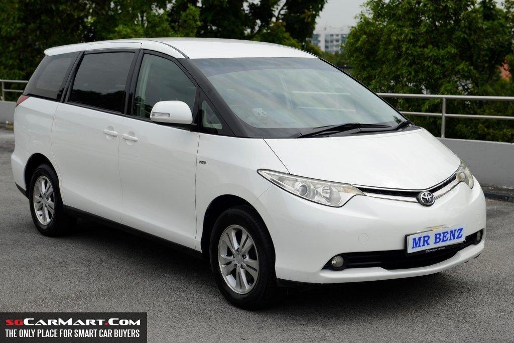 2006 Toyota Previa 2.4A (COE till 03/2021) Photos ...