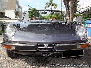 Used Alfa Romeo Spider Car For Sale In Singapore SgCarMart - Used alfa romeo spider for sale