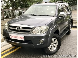 2006 Toyota Fortuner 2 7a Coe Till 03 2021 Photos Pictures