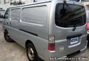 Nissan Urvan (COE till 03/2022)