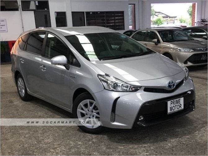 Used Toyota Prius Car For Sale In Singapore Prime Motor Leasing