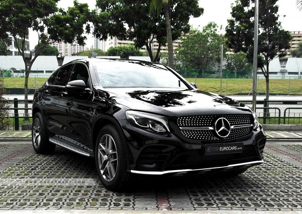 mercedes benz glc class glc coupe amg  matic  pictures singapore stcars
