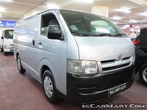Used Toyota Hiace 3 0M (COE till 06/2022) Vehicle For Sale