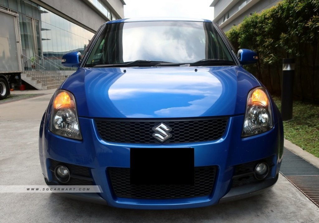 2010 Suzuki Swift Sport 1 6a Photos Pictures Singapore Stcars