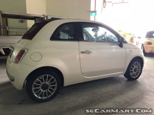 used fiat 500 convertible 1 4a lounge car for sale in singapore ole