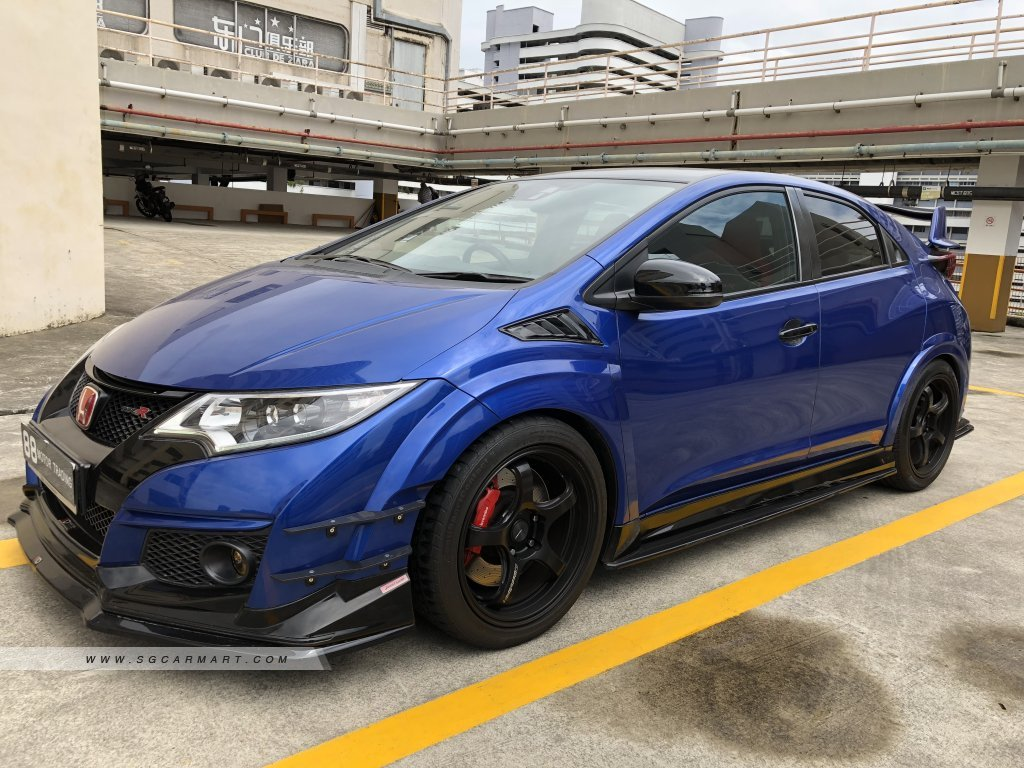 Honda Civic Type-R 2.0M VTEC Turbo GT
