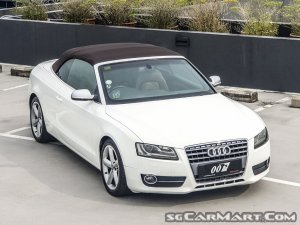 used audi a5 cabriolet 2 0a tfsi quattro new 10 yr coe car for rh stcars sg