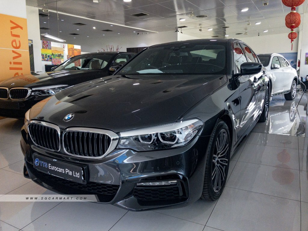 2018 Bmw 5 Series 530i M Sport Photos Pictures Singapore Stcars