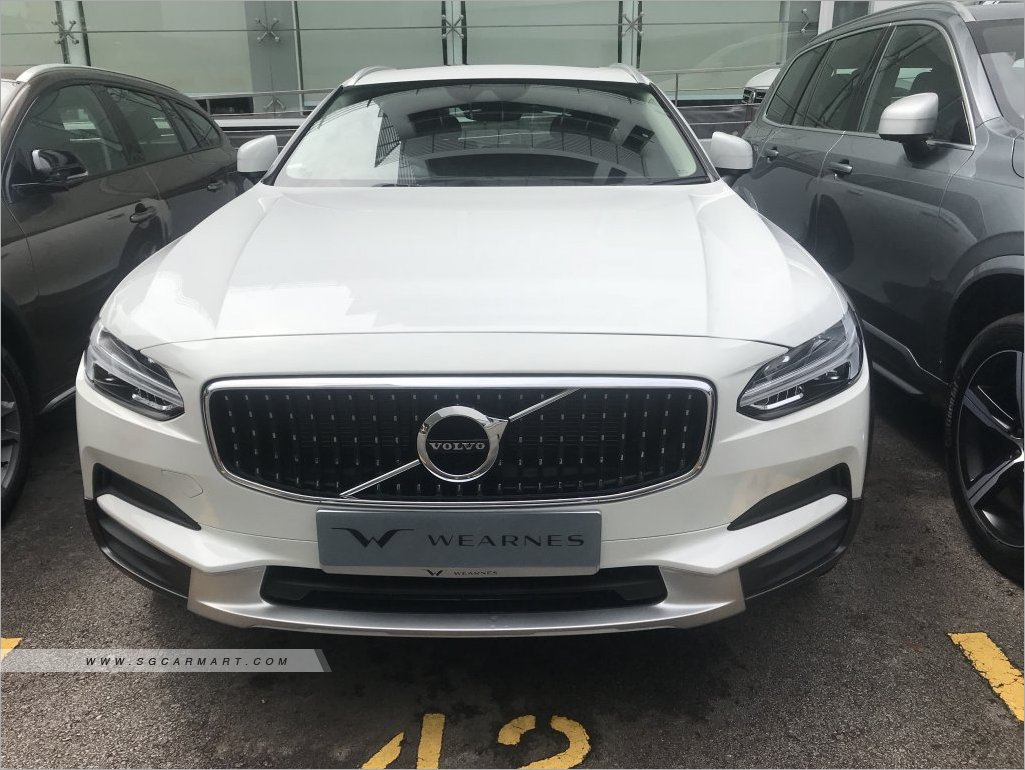 2018 Volvo V90 Cross Country T5 Momentum Photos Pictures Singapore The Is New Stcars
