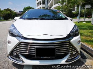 Used Toyota Aqua Hybrid 1 5a G S Car For Sale In Singapore Mycar