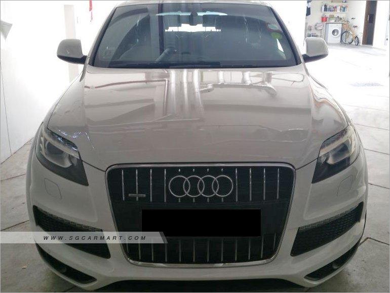 2012 Audi Q7 3 0A TFSI Quattro Tip S-Line Sunroof Photos & Pictures