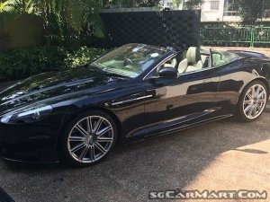 Used Aston Martin DBS Volante Car For Sale In Singapore STCars - Aston martin dbs volante