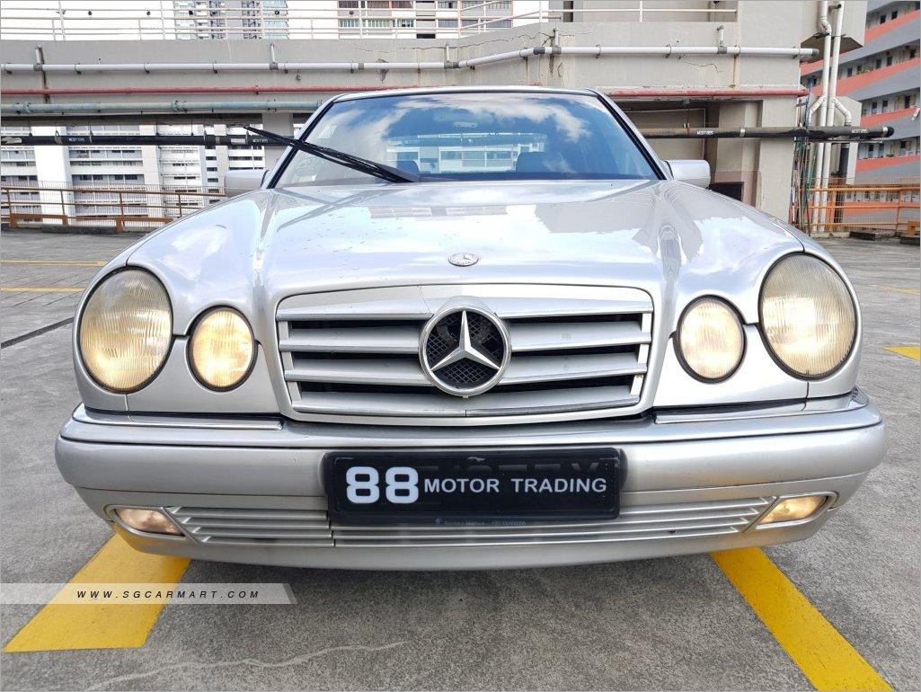 Mercedes-Benz E-Class E200 (COE till 03/2021)