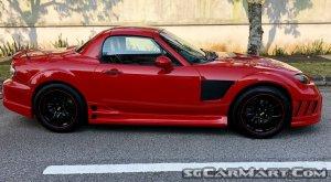 Mazda MX-5 Roadster 2.0A RHT (COE till 06/2023)