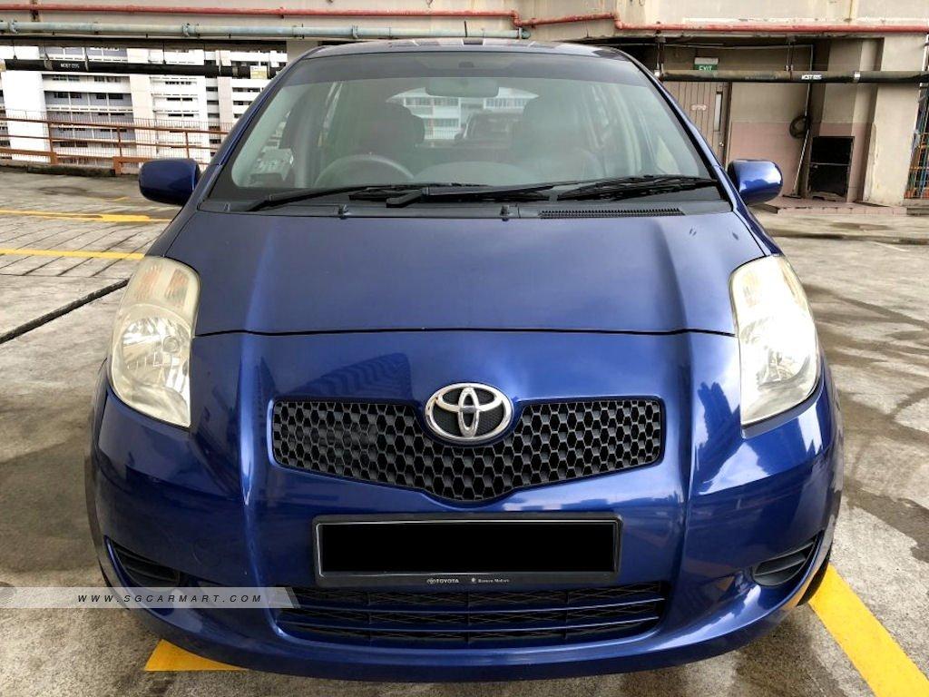 Toyota Yaris 1.5A E (COE till 05/2021)