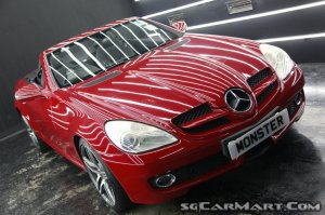 Mercedes-Benz SLK-Class SLK200K (New 10-yr COE)