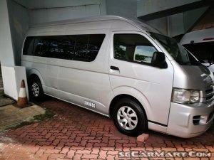 Toyota Hiace Commuter 3.0A (COE till 10/2023)