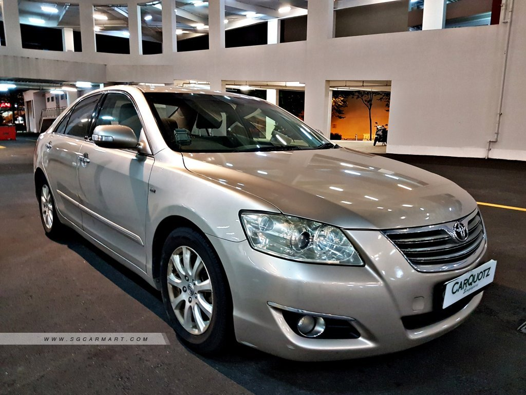 2007 toyota camry 2 0a coe till 03 2022 photos pictures singapore rh stcars sg