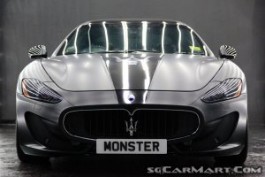 Maserati GranTurismo S MC Sport Line 4.7A (New 10-yr COE)