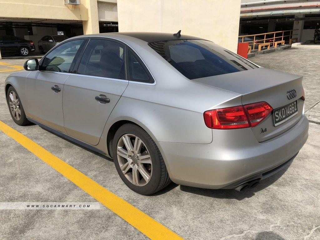Audi A4 1.8A TFSI MU S-Line (New 10-yr COE)