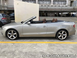 used audi a5 cabriolet 2 0a tfsi quattro car for sale in singapore rh stcars sg
