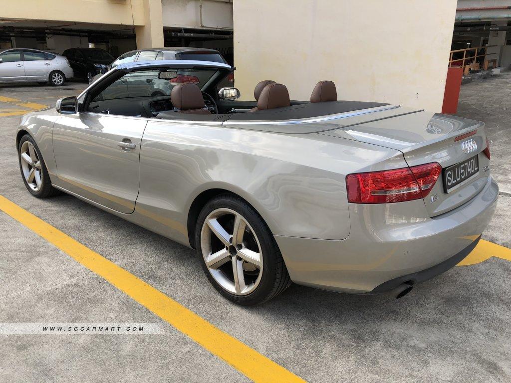 Audi A5 Cabriolet 2.0A TFSI Quattro