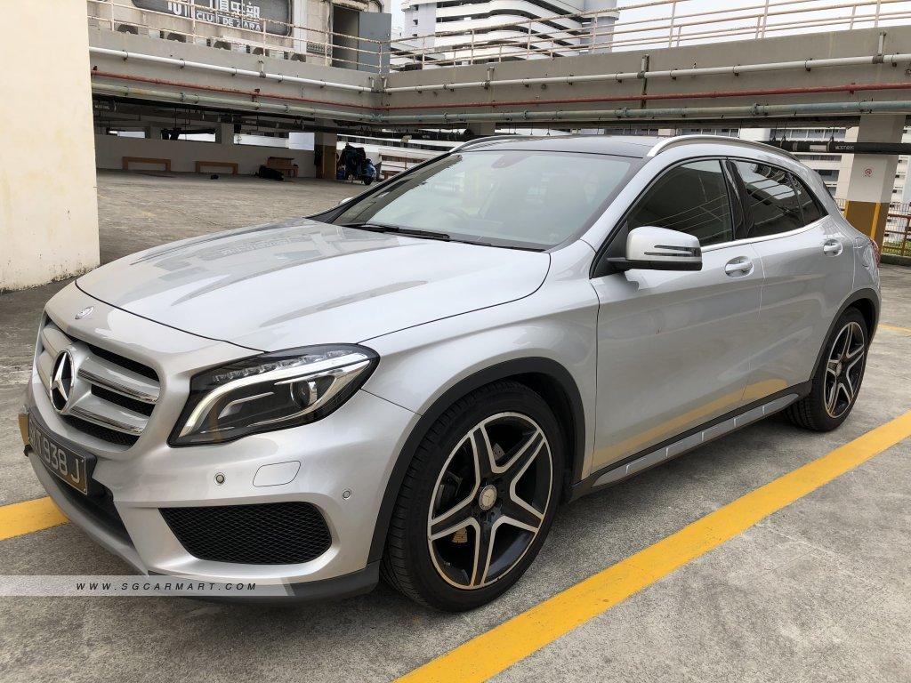 Mercedes-Benz GLA-Class GLA250 AMG Line 4MATIC