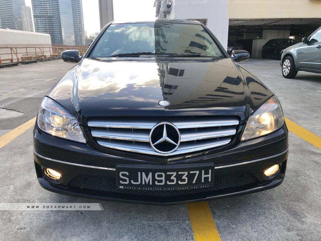 Mercedes-Benz CLC-Class CLC180K (New 10-yr COE)
