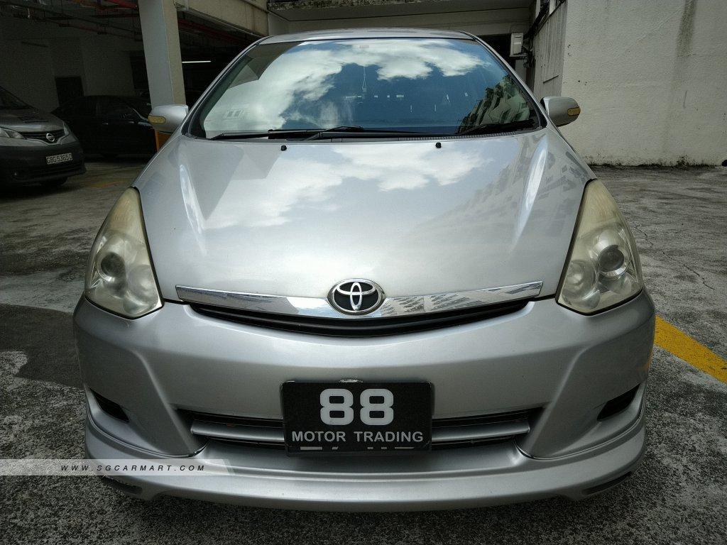 Toyota Wish 1.8A (New 5-yr COE)