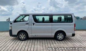 Toyota Hiace (COE till 01/2024)