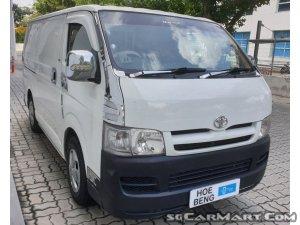 Toyota Hiace 2.5M (COE till 03/2020)