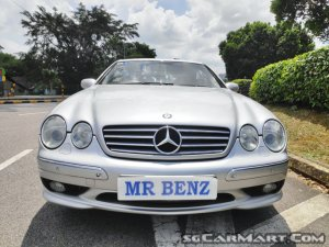 Mercedes-Benz CL55 AMG (COE till 10/2020)