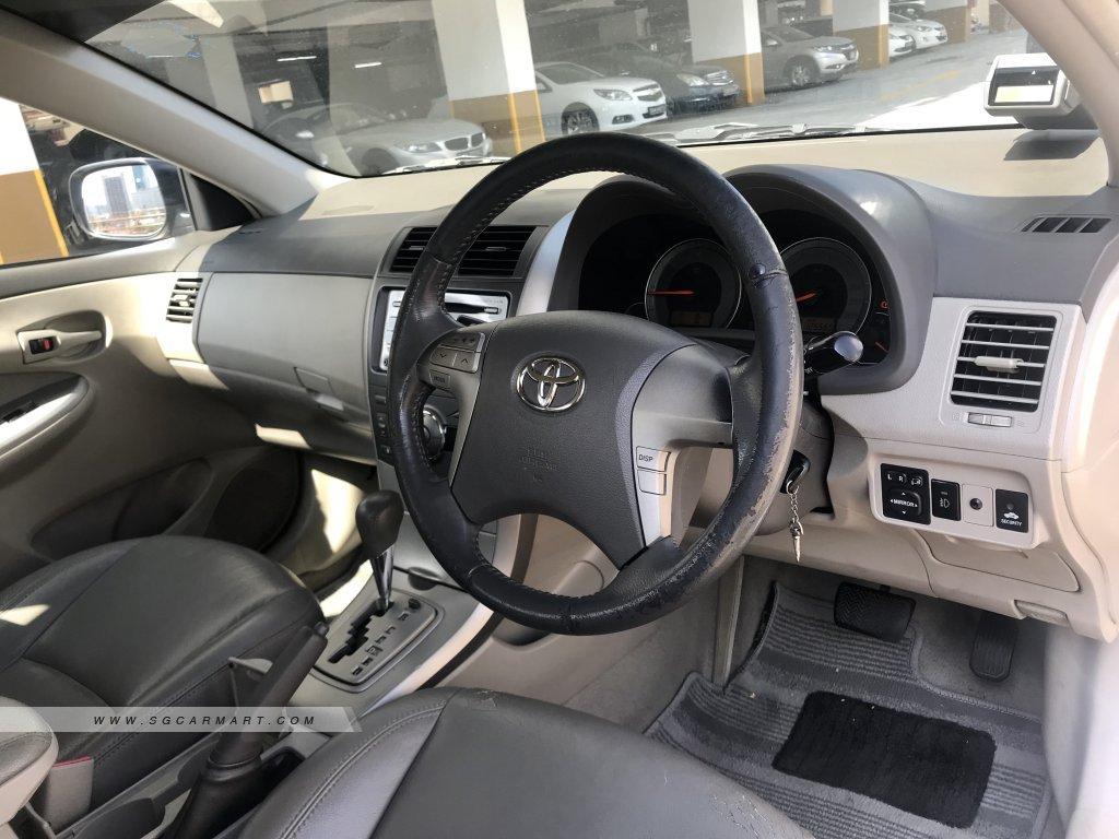 Toyota Corolla Altis 1.6A (New 5-yr COE)