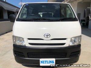 Toyota Hiace (COE till 12/2021)