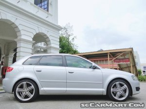Audi A3 Sportback 1.8A TFSI (New 10-yr COE)