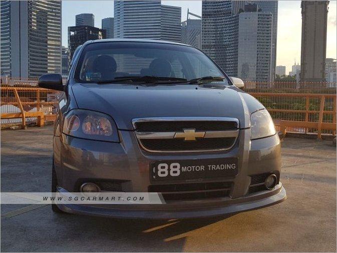 Chevrolet Aveo 1.4A SS