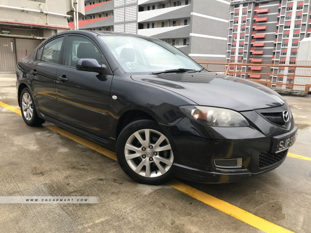 Mazda 3 1.6A SP Luxury (New 5-yr COE)