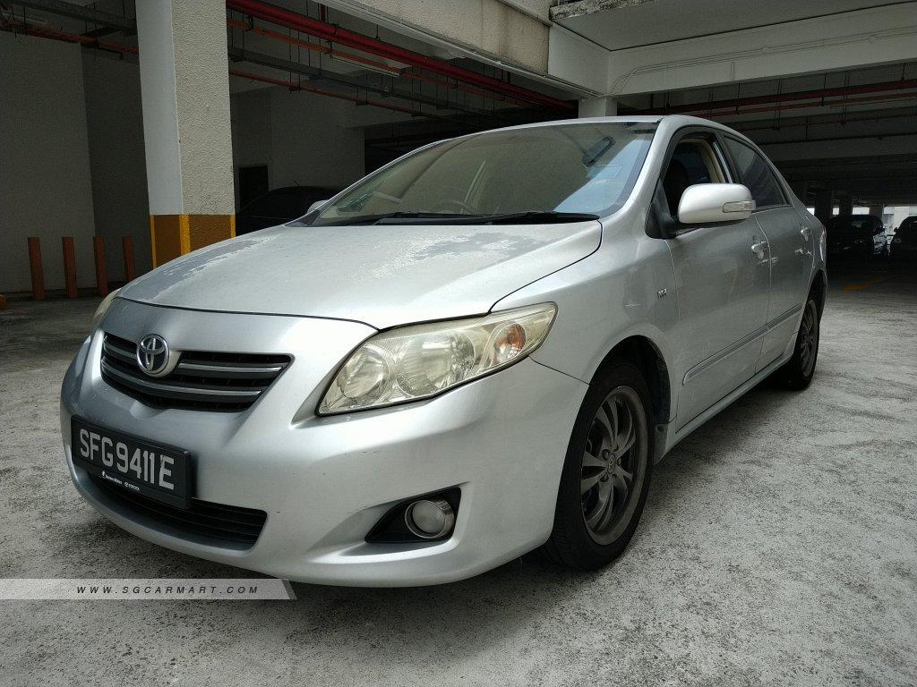 Toyota Corolla Altis 1.6A (COE till 02/2029)