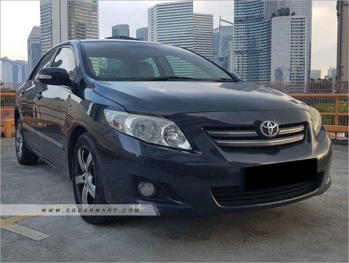 Toyota Corolla Altis 1.6A (New 10-yr COE)