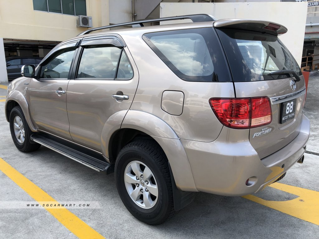 Toyota Fortuner 2.7A (COE till 10/2026)