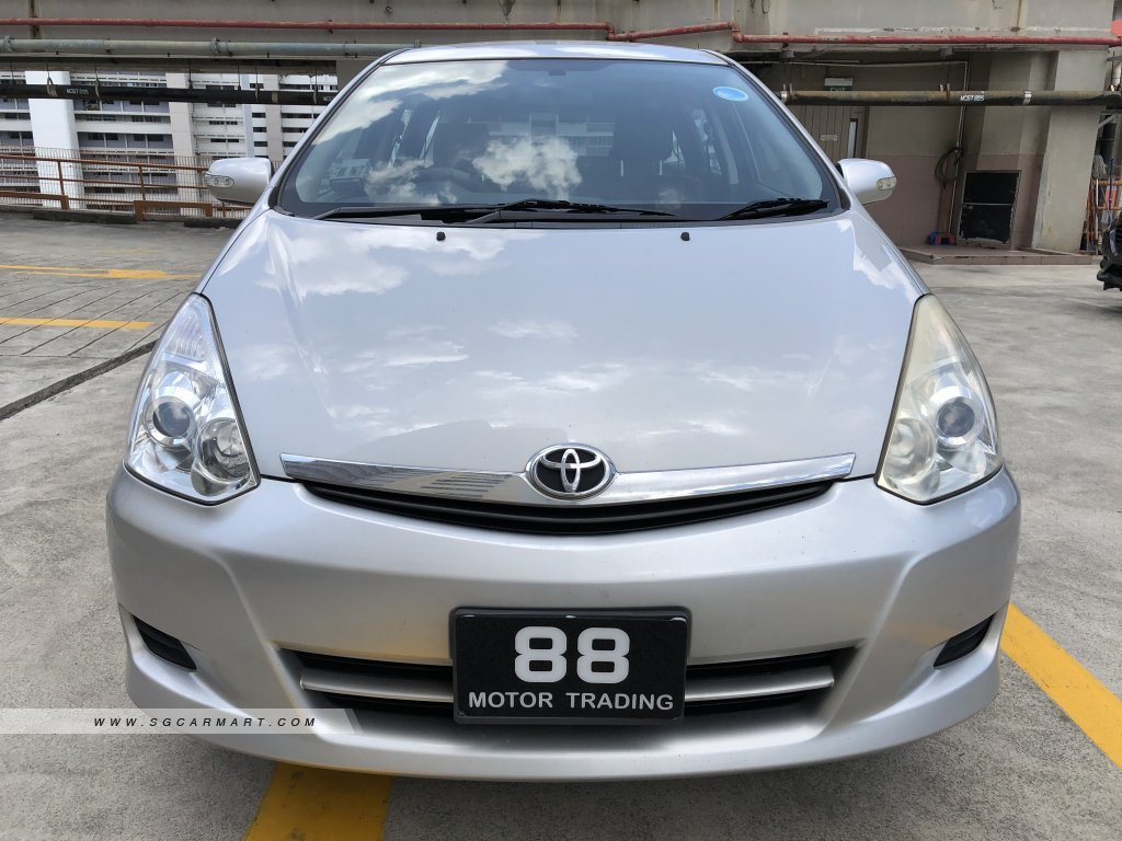 Toyota Wish 1.8A Aero Tourer (New 10-yr COE)