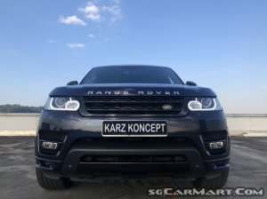 Land Rover Range Rover Sport 5.0A V8 Supercharged Autobiograph