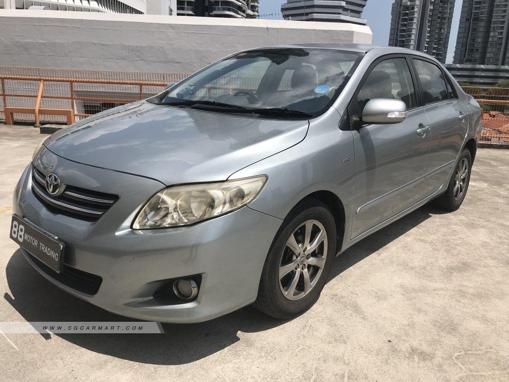 Toyota Corolla Altis 1.6A (COE till 10/2028)