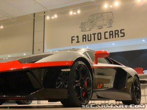 Used Lamborghini Aventador Lp700 4 Car For Sale In Singapore F1