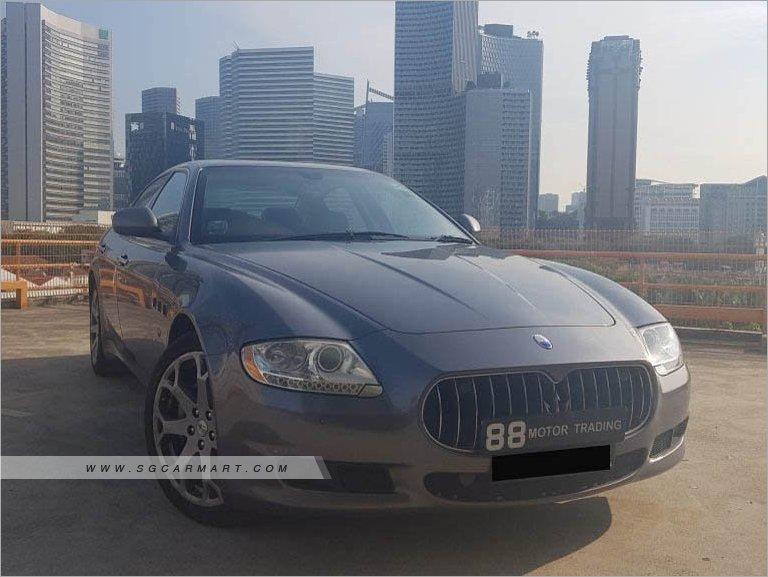 Maserati Quattroporte S 4.7A (New 10-yr COE)